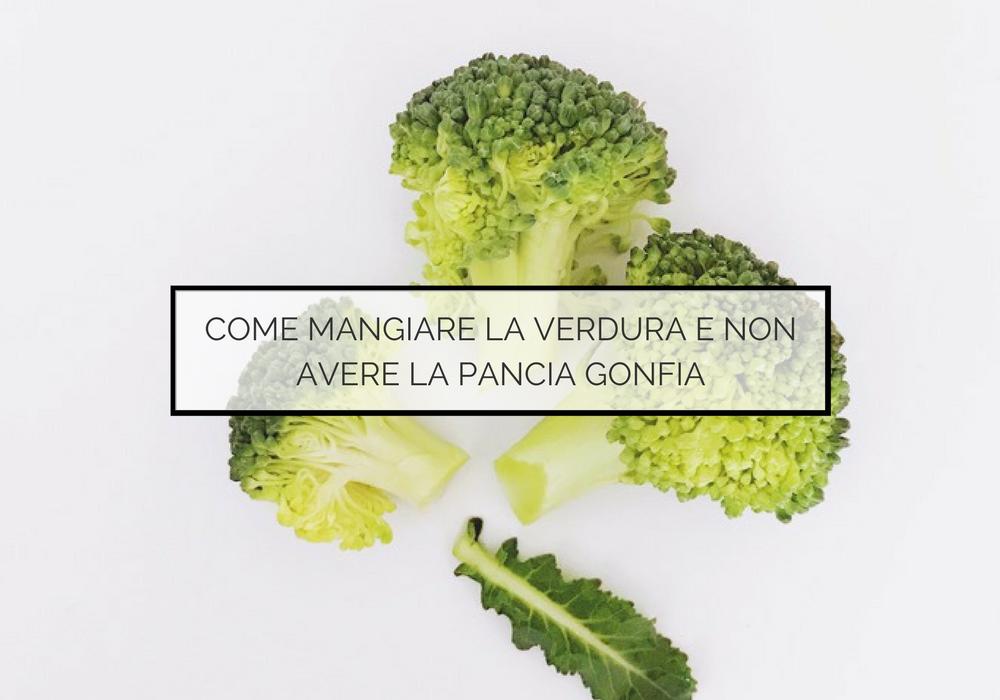 Verdura e pancia gonfia - dieta macrobiotica