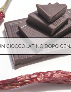 Un cioccolatino dopo cena - dieta macrobiotica
