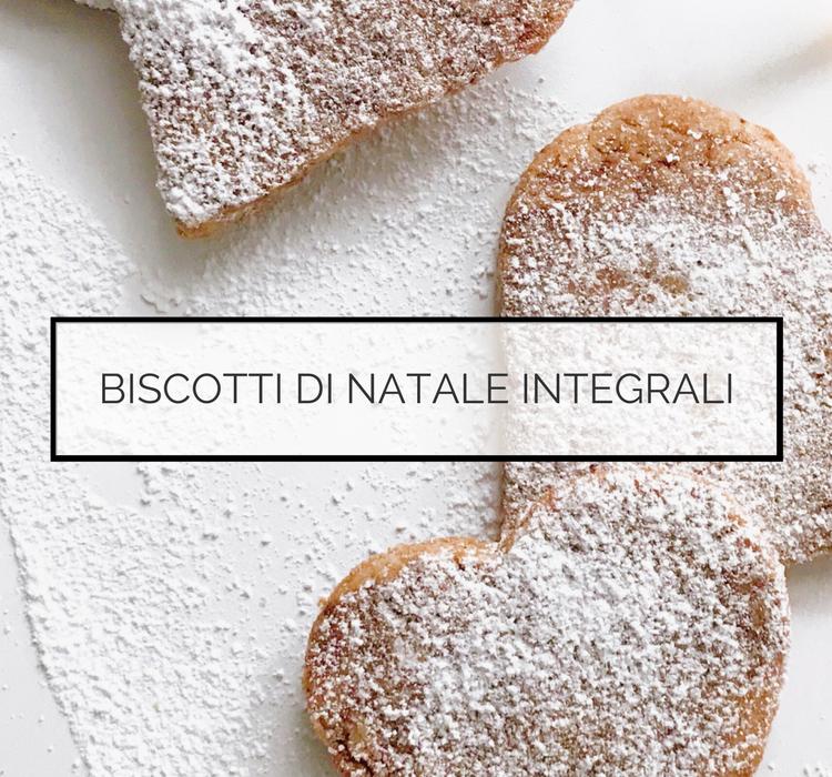 biscotti integrali - dieta macrobiotica