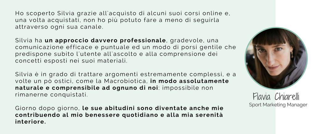 testimonianze consulenza macrobiotica