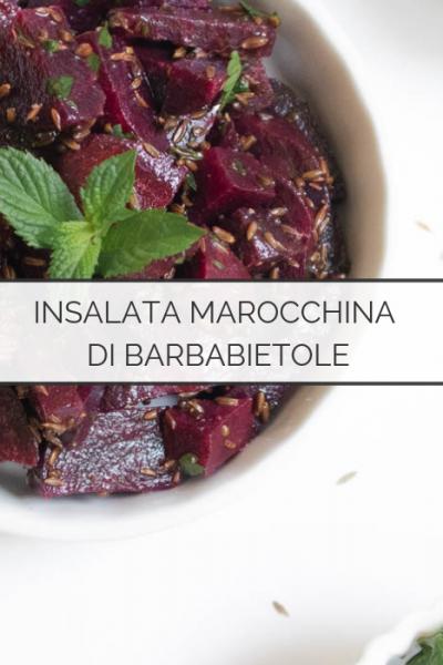 insalata marocchina di barbabietole