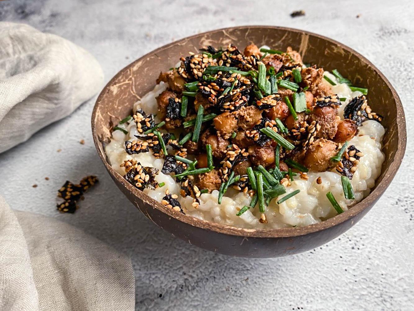 Ricette – Congee con zenzero, ricetta base